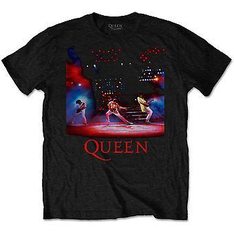 Queen - Live Shot Spotlight Menn Medium T-skjorte - Svart