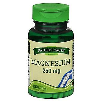 Nature's Truth Magnesium, 250 mg, 100 Tabs