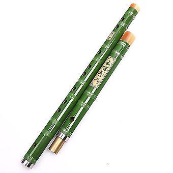 חליל במבוק למתחילים שני חלקים נתיקים חליל סיני נחושת במבוק דיזי יחיד תקע כלי נגינה