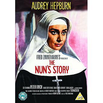 The Nuns Story DVD (2006) Audrey Hepburn Zinnemann (DIR) certificaat PG Region 2