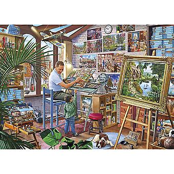 Gibsons A Work of Art Jigsaw Puzzle  (500 XL Pieces)
