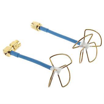 5.8g 3 Blade Blätter Omnidirektionale Verstärkung Antenne Innere Nadel für Sender