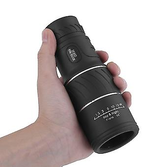 16x52 High Definition Compact Monocular Zoom Telescope Scope Coating Lenses