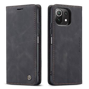 CASEME Wallet Sag Xiaomi Mi 11 Lite - Sort
