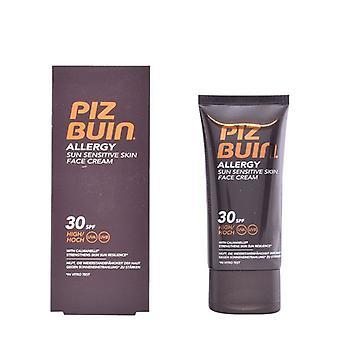 Ansiktsbehandling Sun Cream allergi Piz Buin SPF 30 (50 ml)