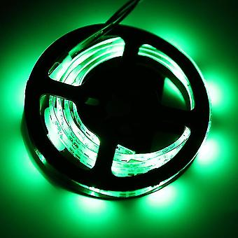 Ws68 12 Rgb 5050 Smd Гибкий 5v Светодиодные черные полосы лампы свет с батарейным отбоем