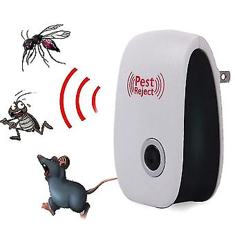 4pcs Ultrasonic Indoor Silent Mouse Repeller, Insect Repellent