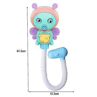 Fürdő játékok elektromos rajzfilm méh zuhany víz spray játékok