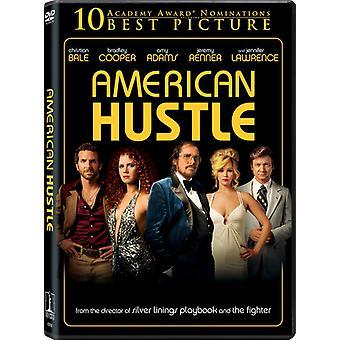 Amerikanske Hustle [DVD] USA importerer