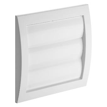 Outside Gravity Shutter Wall Ventilation Duct Flant Cover External Wall Grille