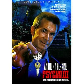 Psycho III (Collector's Edition) [DVD] USA import
