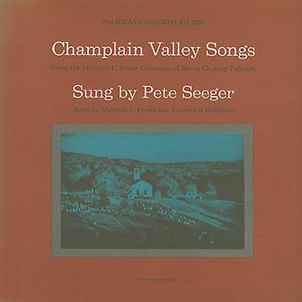 Pete Seeger - Champlain Valley Songs [CD] USA import