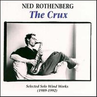Ned Rothenberg - 1989-92-Crux-Selected Solo Win [CD] USA import