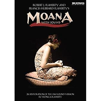 Moana with Sound [DVD] USA import