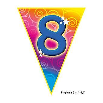 Party favors  Flagline '8' 5m
