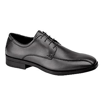 IMAC Mens 4 Eye Tramline Tie Shoes