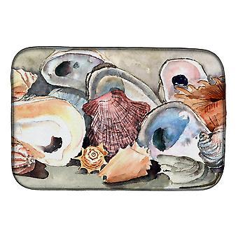 Carolines Treasures  8619DDM Sea Shells Dish Drying Mat