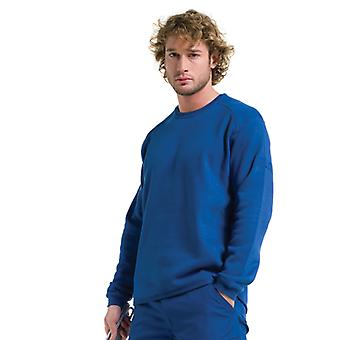 Russell Mens Workwear Crewneck Long Sleeve Sweatshirt