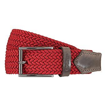 Strellson riemen mannen riemen geweven riem stretch riem rood 5951
