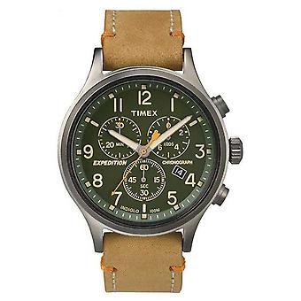 Timex Mens Scout Chronograph groene wijzerplaat TW4B04400-horloge