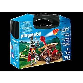 Playmobil 9106 Knight's Catapult Carry Case