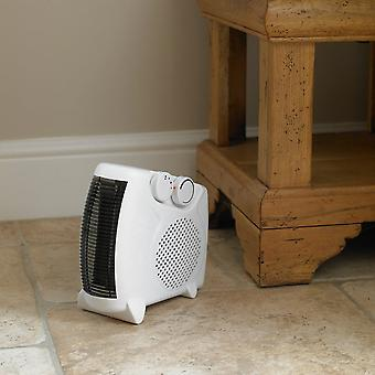 Kingfisher 2000W Portable Upright Flat Fan Electric Heater