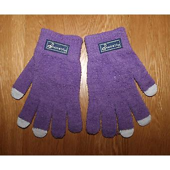 Touch Screen Gloves - Purple