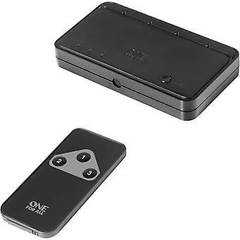 En för alla SV 1630 3 portar HDMI switch 3D uppspelningsläge, LED-display, + fjärrkontroll 1080 p