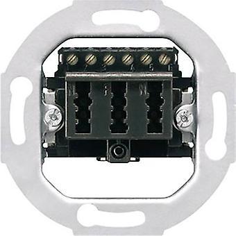 Jung Insert TAE socket LS 990, AS 500, CD 500, LS design, LS plus, FD design, A 500, A plus, A creation, CD plus, SL 500 TAE3X6NFNUPO