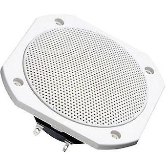 Visaton FRS 10 WP Flush mount speaker 50 W 8 Ω White 1 pc(s)
