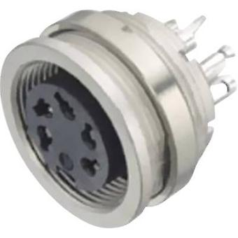Binder 09-0320-00-05-1 Miniature Round Plug Connector Series 581 And 680 Nominal current (details): 5 A Number of pins: 5 Stereo-DIN
