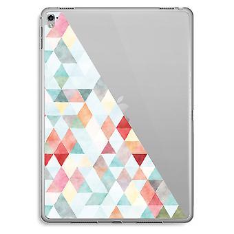 iPad Pro 9,7 pollici custodia trasparente (Soft) - triangoli colorati pastello