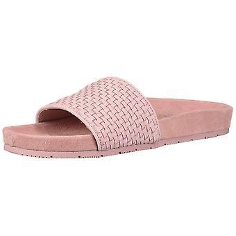 J Slides Womens Naomi Open Toe Casual Slide Sandals