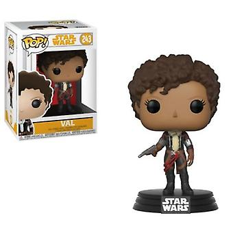 Funko POP Star Wars Solo: Val Collectible Figur