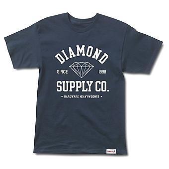 Diamond Supply Co urheilullinen t-paita Navy