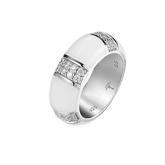 Joop women's ring silver zirconia Amanda JPRG90713B