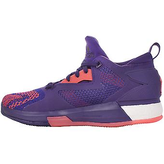 adidas Performance D Lillard 2 Boost Primeknit Basketball Trainers Shoes -Purple