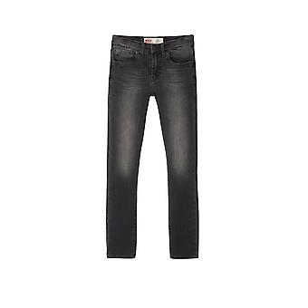 Levi's® Kinder 510 Skinny Fit washed Black Jean