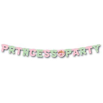 Disney prinsesse Happy Birthday brev pendul