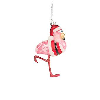 Sass og Belle Flamingo Christmas Bauble