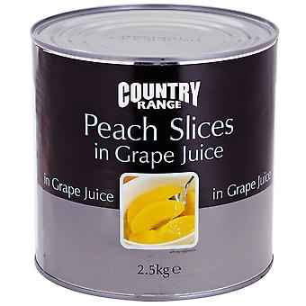 Country Range Peach Slices in Juice