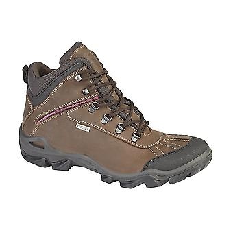 IMAC Womens/Ladies Waterproof Leather Hiking Boots