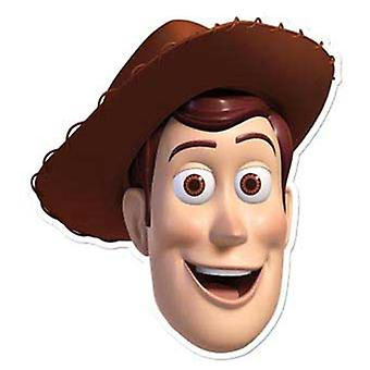 Woody Card Fancy Dress Mask (Toy Story)