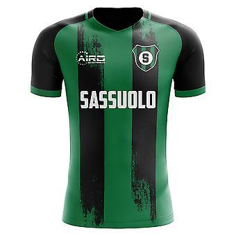 2020-2021 サッスオーロ ホームコンセプトフットボールシャツ