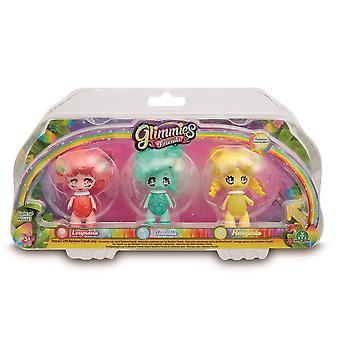 Glimmies Kids Rainbow Friends Triple Pack - Designs may vary