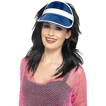 Poker vizor Blue Poker Hat Poker Hat Casino Hat
