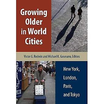 Vieillir dans les villes du monde: New York, Londres, Paris et Tokyo