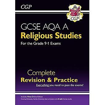 Nouveau Grade 9-1 GCSE études religieuses: AQA une révision complète & pratique avec l'édition en ligne