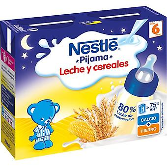 Nestlé Milk porridge with 8 Cereals 2 x 250 ml