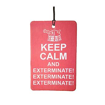 Daleks Behalten Sie Ruhe und Exterminate Auto Lufterfrischer